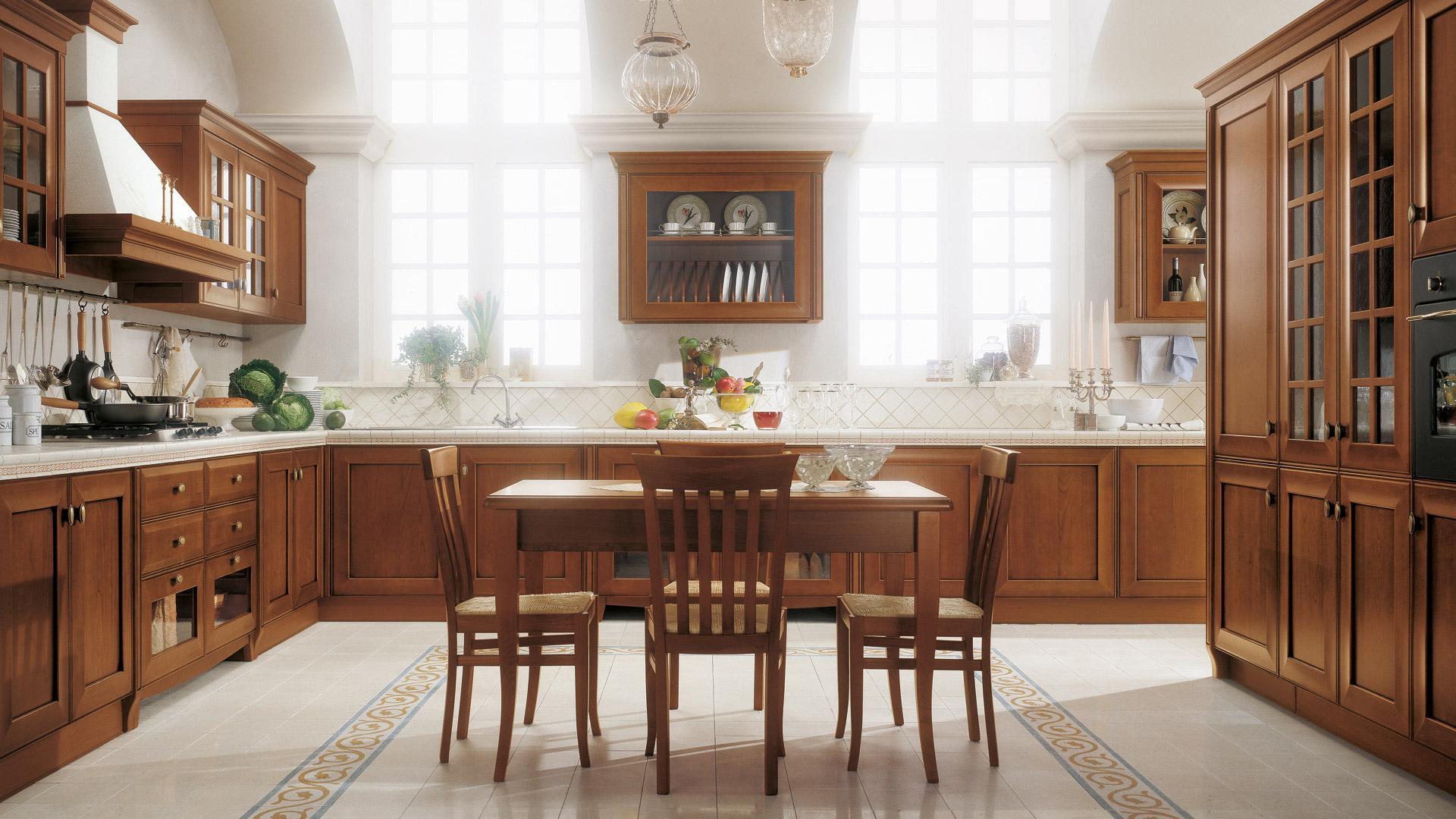 Cucina velia ciliegio mobili biagi for Cucine in ciliegio moderne